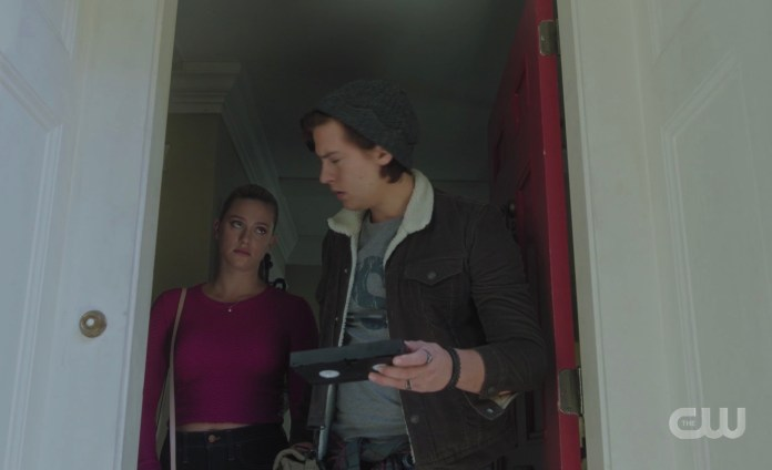 Betty and Jughead receive another tape from the Riverdale auteur