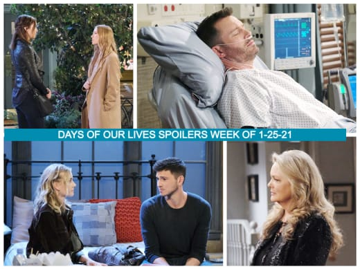 Days of Our Lives Spoilers Week of 1-25-21 - Days of Our Lives