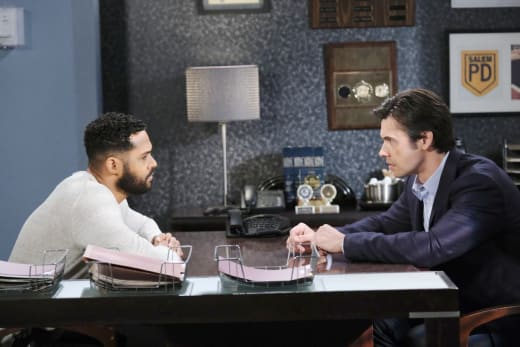 Eli Enlists Xander - Days of Our Lives