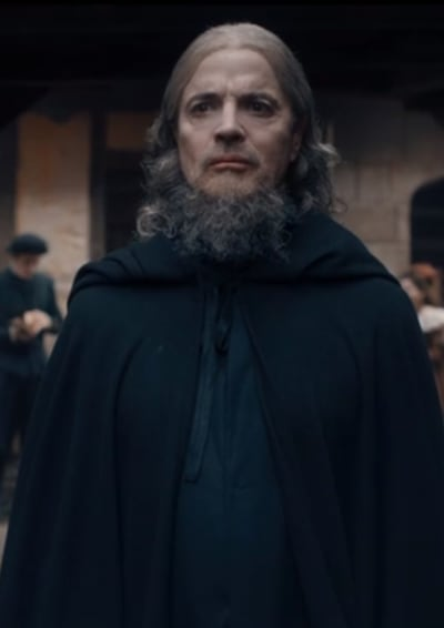 Father Hubbard Follows Matthew - A Discovery of Witches Season 2 Episode 2