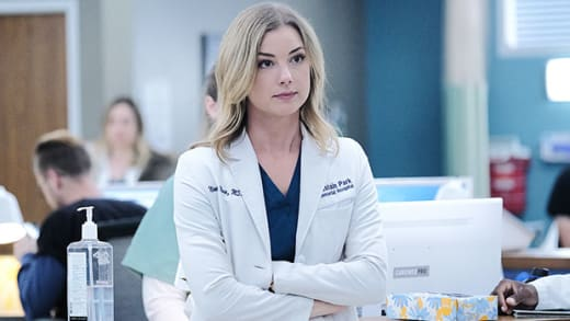 Nic on The Resident