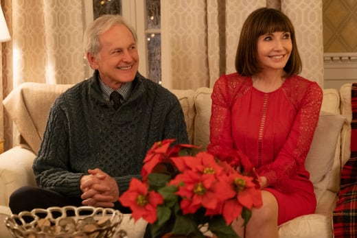 Victor Garber and Mary Steenburgen