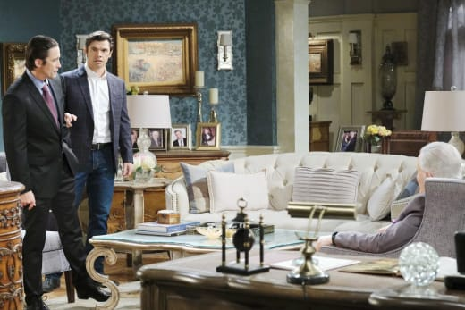 Xander Rats Out Philip - Days of Our Lives