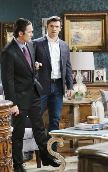 Xander Rats Out Philip/Tall - Days of Our Lives