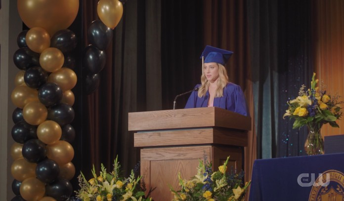 Betty's Riverdale High valedictorian speech