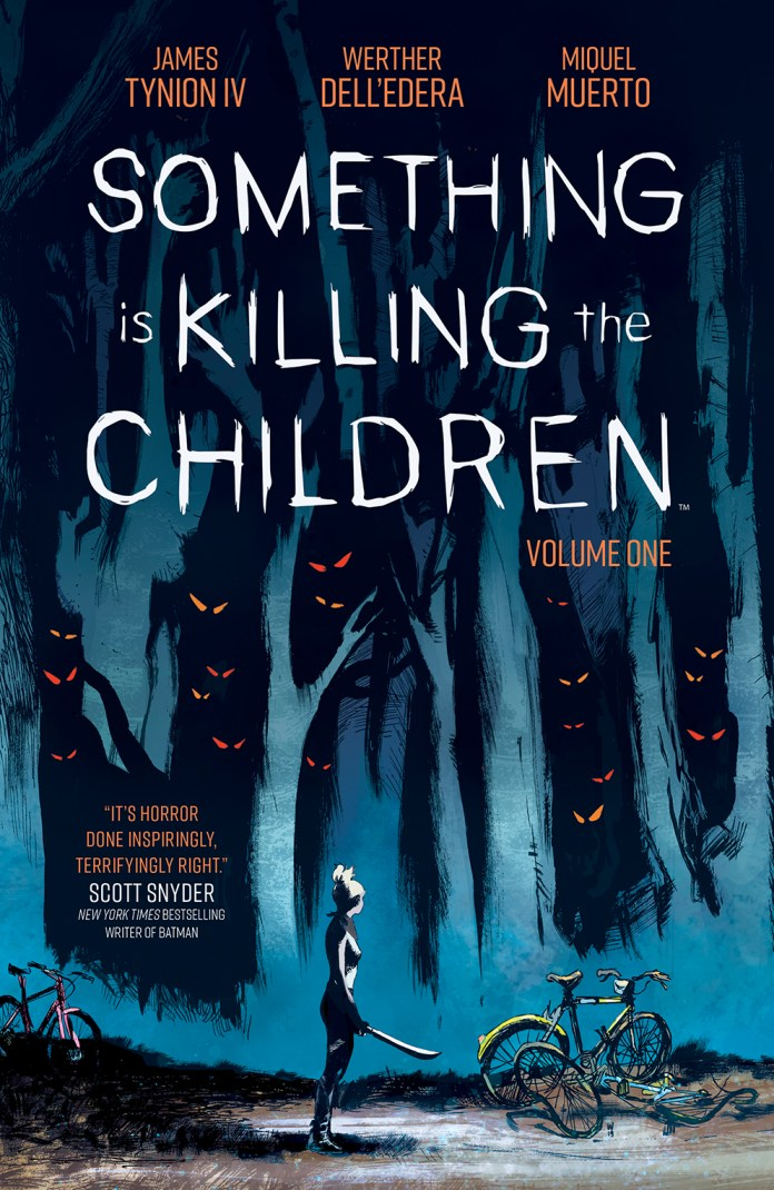 BOOM! Studios May 2020 solicits: Something Is Killing the Children Vol. 1