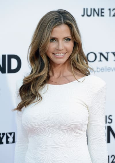 Charisma Carpenter Attends This Is The End Premiere