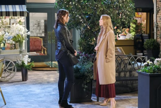 Confronting Her Evil Half Sister - Days of Our Lives