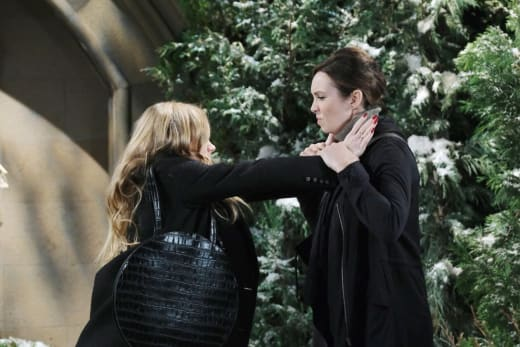 Fight at the Cemetery - Days of Our Lives