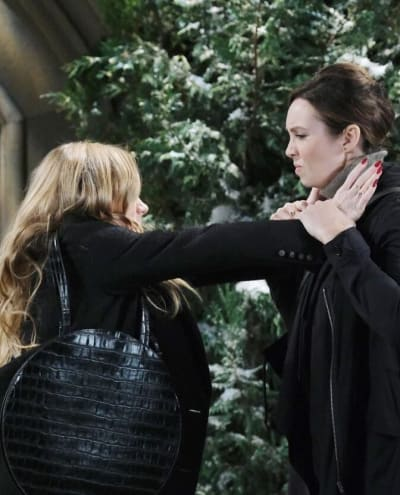 Fight at the Cemetery/Tall - Days of Our Lives