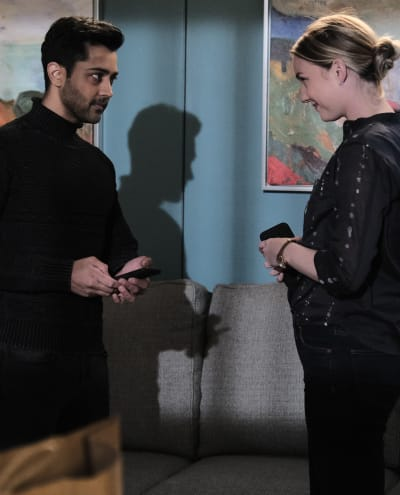 Friends and Comfort - Tall - The Resident Season 4 Episode 4