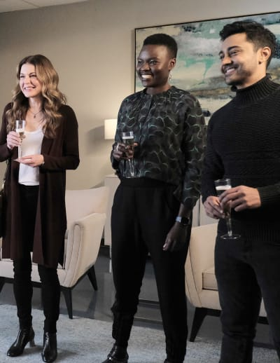 Godparents? - Tall - The Resident Season 4 Episode 4