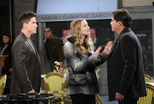 Lucas And Allie's Run-In - Days of Our Lives