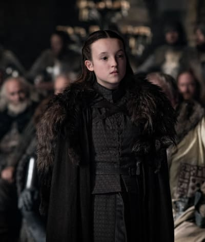 Lyanna Mormont Does Not Mince Her Words - Game of Thrones Season 8 Episode 1