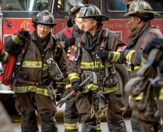 Mouch, Severide, and Boden - Chicago Fire Season 9 Episode 5