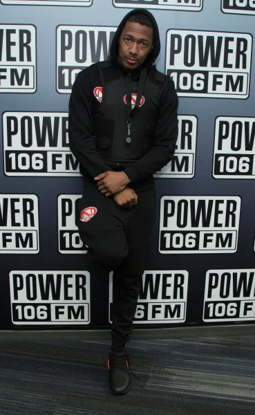 Nick Cannon Attends Radio Event