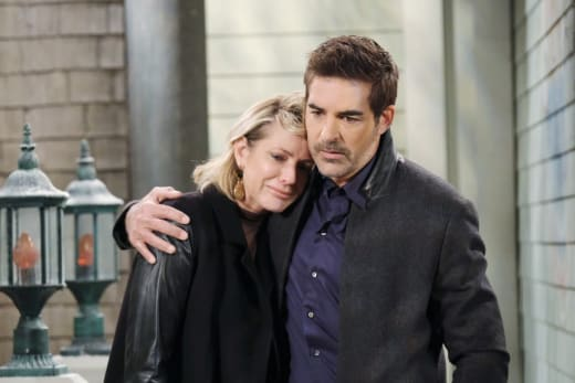 Rafe Comforts Nicole - Days of Our Lives