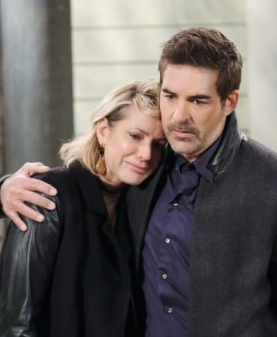 Rafe Comforts Nicole/Tall - Days of Our Lives