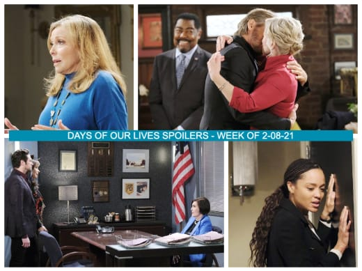 Spoilers for The Week of 2-08-21 - Days of Our Lives