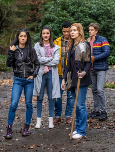Time's Running Out - Tall - Nancy Drew Season 2 Episode 3
