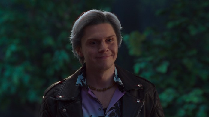 Pietro Maximoff (Evan Peters) arrives on the scene, adding to the WandaVision problem