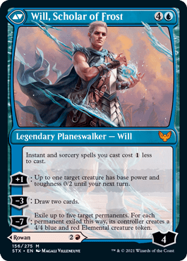 Will, Scholar of Frost standard frame