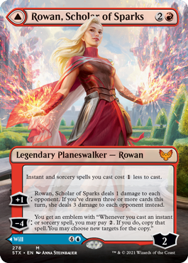 Rowan, Scholar of Sparks Borderless