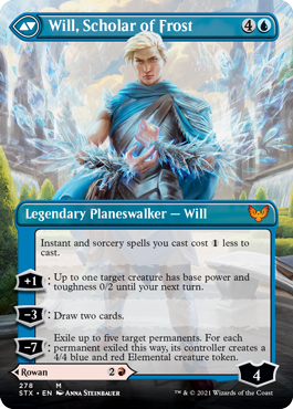 Will, Scholar of Frost Borderless