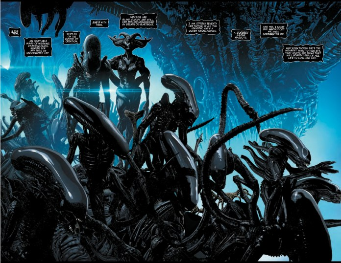 Alien #1 pages 2 and 3