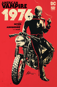 A magazine cover with a person on a motorcycleDescription automatically generated with medium confidence