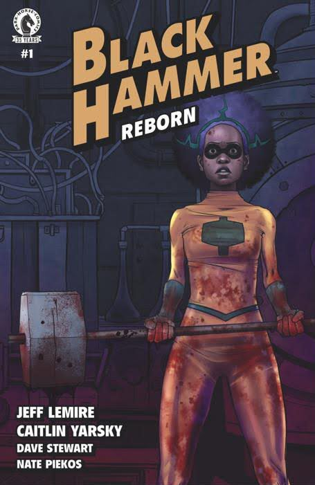 Black Hammer Reborn #1 Cover A