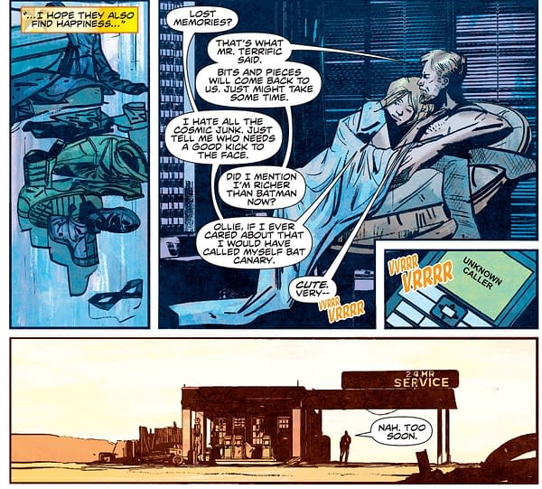 Roy Harper, Black Canary and Green Arrow In Infinite Frontier?