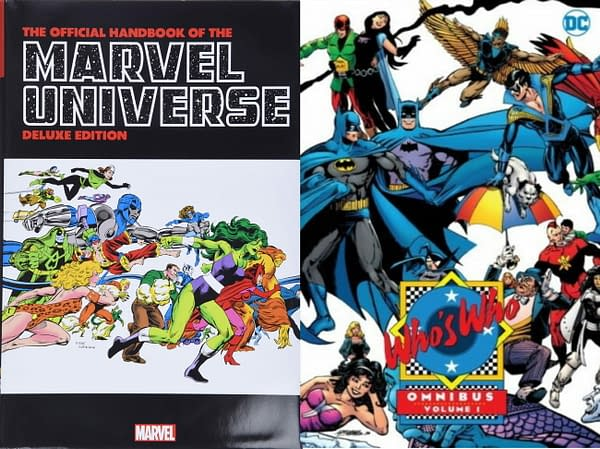Peter Sanderson Wonders Where His DC Comics Who's Who Omnibus Is...