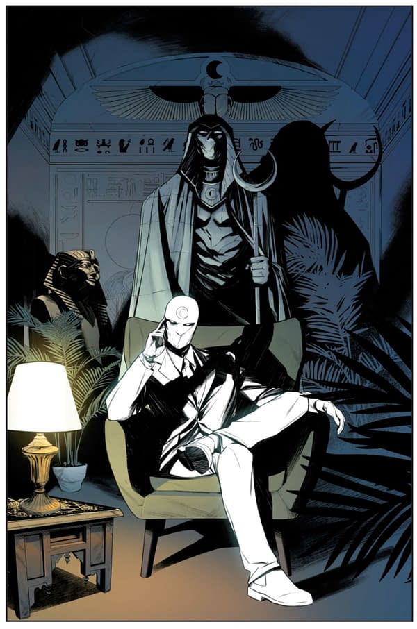 Moon Knight by Jed MacKay and Alessandro Cappucci