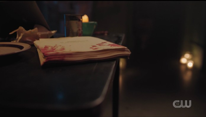 There's his paper, but where in Riverdale is Jughead?