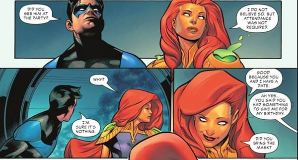 DC Comics' Nightwing, Batgirl and Starfire Triangle (Spoilers)