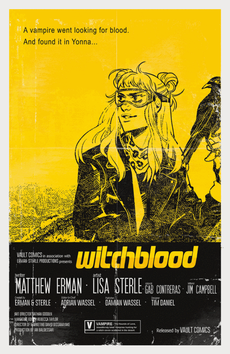 Witchblood #1 Easy Rider homage variant