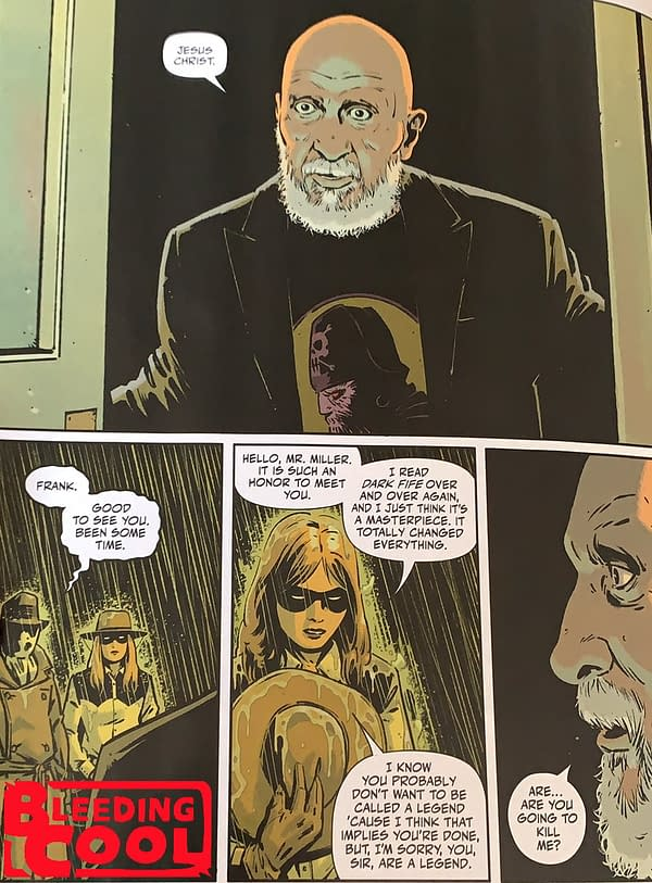 Frank Miller - Appearing In Rorschach #7? (Spoilers)