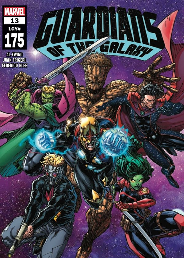 Guardians Of The Galaxy #13 Review: Cosmic Adventure