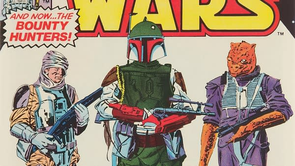 Star Wars #42 featuring Boba Fett, Marvel Comics 1980.