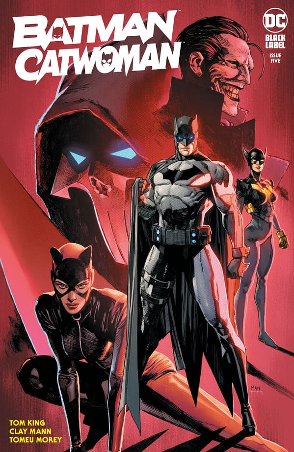 Cover image for BATMAN CATWOMAN #5 (OF 12) CVR A CLAY MANN (MR)