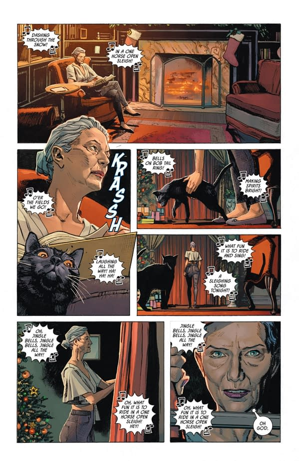 Interior preview page from BATMAN CATWOMAN #5 (OF 12) CVR A CLAY MANN (MR)