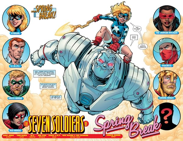 Interior preview page from STARGIRL SPRING BREAK SPECIAL #1 (ONE SHOT) CVR A TODD NAUCK
