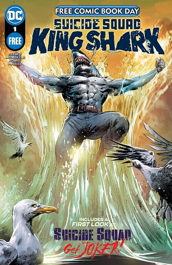 DC Publishes 4 Comics on Free Comic Book Day - Batman and King Shark