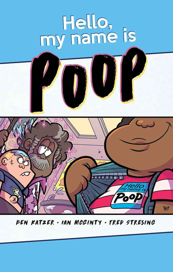 Hello My Name is Poop: Wonderbound's New Middle Grade Graphic Novel