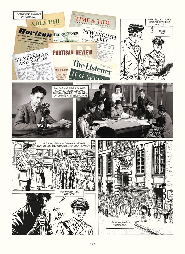 Orwell: SelfMadeHero Publishes Graphic Biography of 1984 Writer