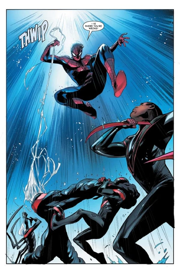 Interior preview page from MILES MORALES SPIDER-MAN #26