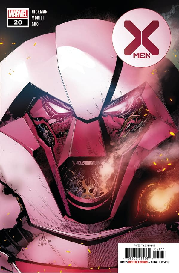 Cover image for X-MEN #20