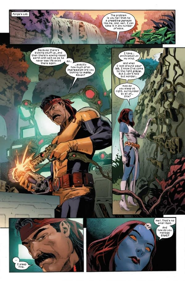 Interior preview page from X-MEN #20