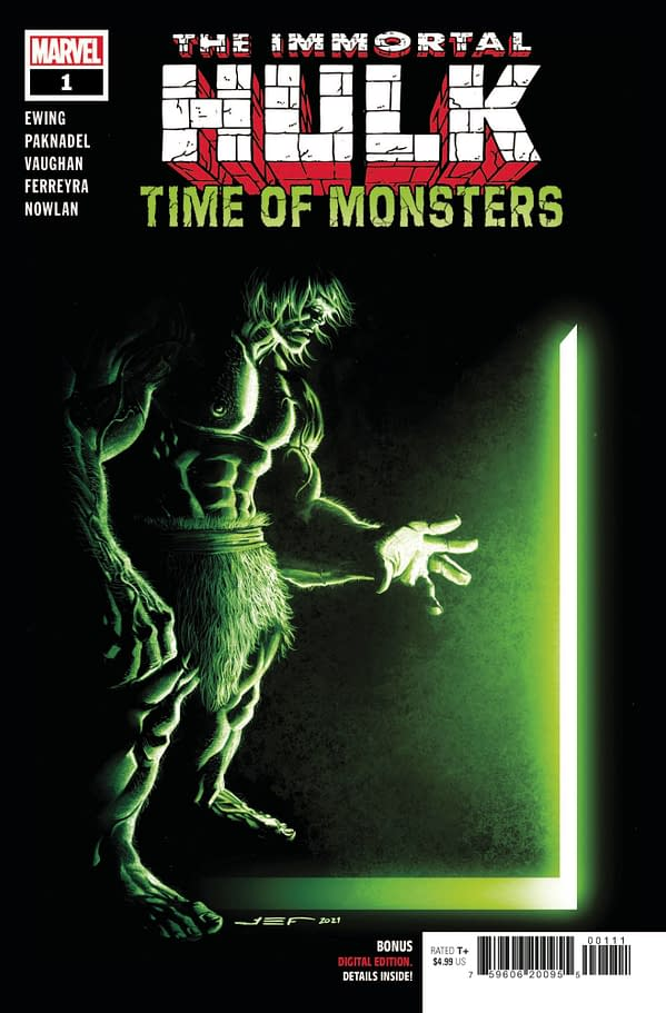 Cover image for IMMORTAL HULK TIME OF MONSTERS #1